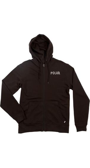 POLER Psychedelic sweater Heren zwart